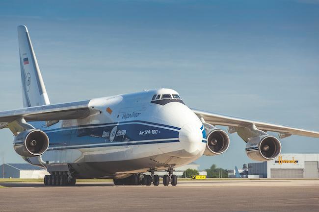 An-124-100 freighter aircraft
