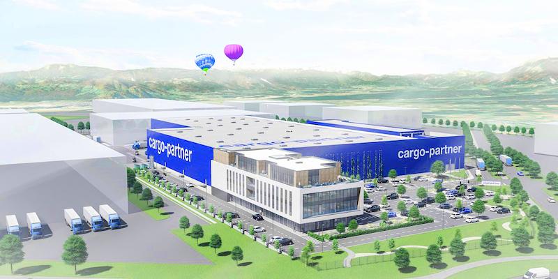 The cargo-partner facility in Ljubljana