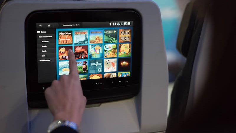Inflight entertainment: personal electronic devices