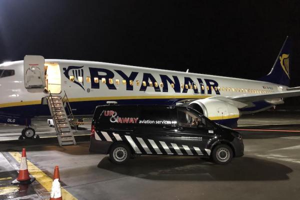 Up & Away Aviation Services with Ryanair