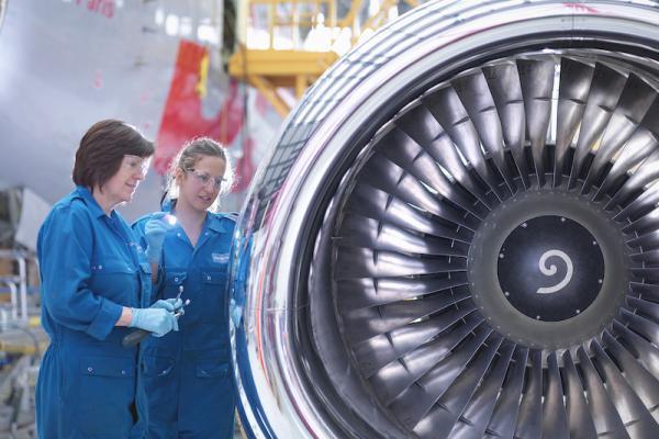 Aviation industry, women, training