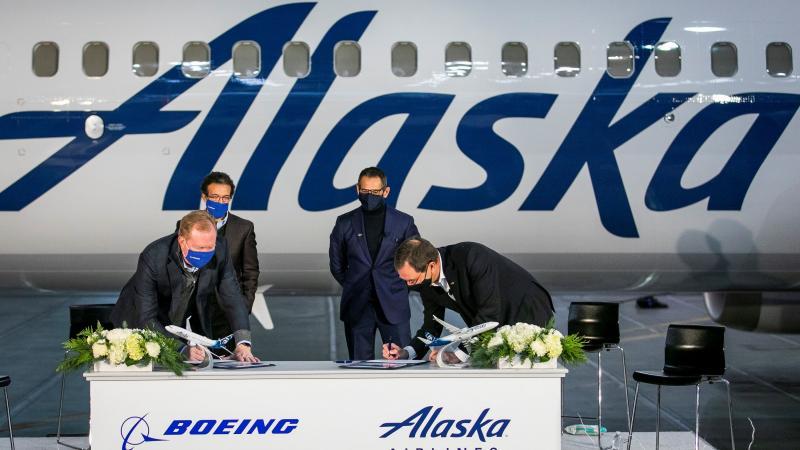 Alaska Boeing
