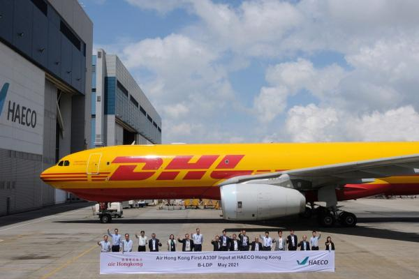 HAECO C check for Air Hong Kong