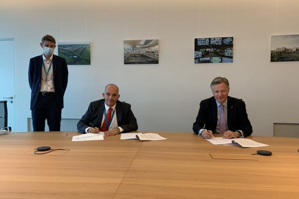 Safran Aircraft Engine Services Brussels has signed an agreement with Brussels Airport