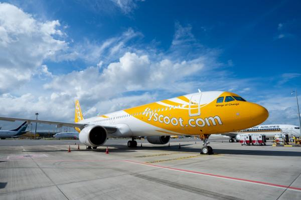 Scoot A321neo aircraft