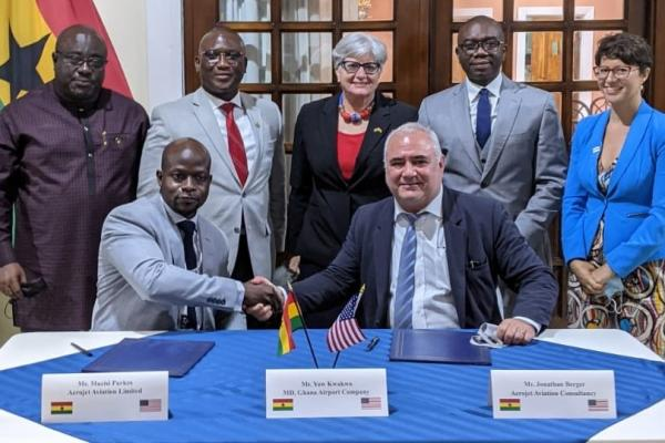 Alton Aviation Ghana MRO signing