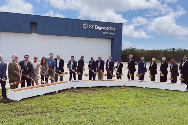 ST Engineering groundbreaking Pensacola
